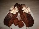 Felie de tort cu ciocolată